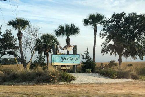 Tybee Island Sign-min